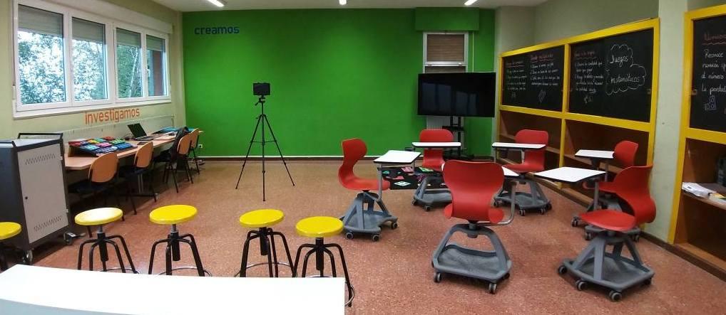 aula en CRA Villayón